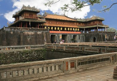 Say đắm không gian kiến trúc cung đình vàng son ở Đại Nội Huế